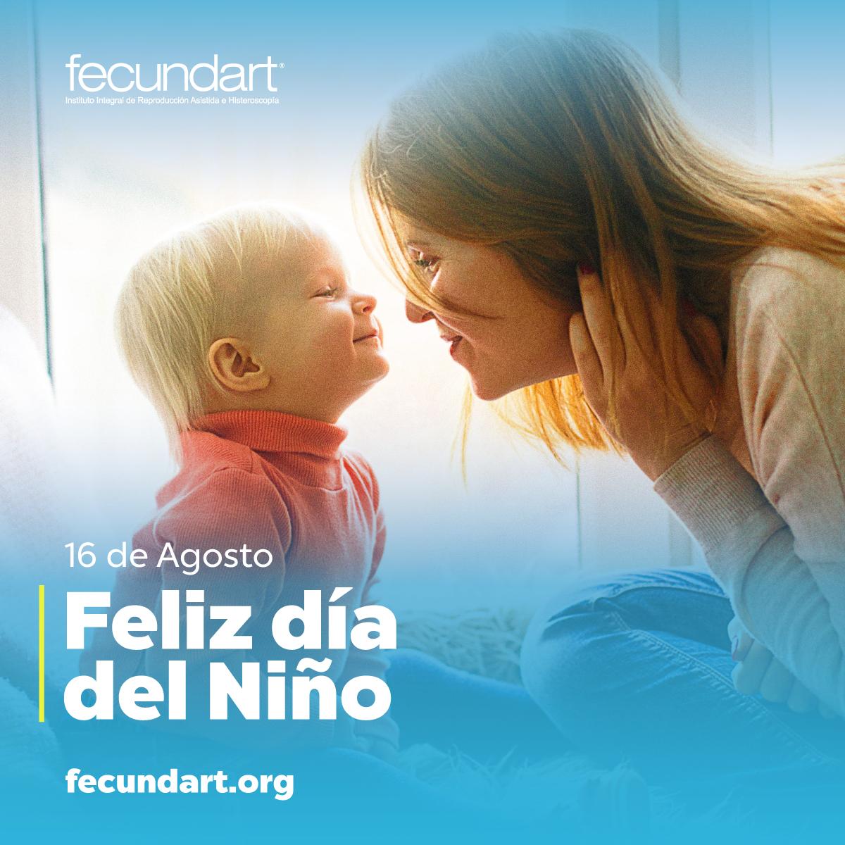 16 de agosto: Día del Niño